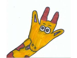 Contorno de la mano